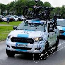 Team Sky Arrive at Pembrey 3