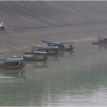 The Loner fisherman Yangtze River
