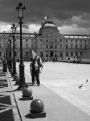 The Louvre Courtyard – Mono