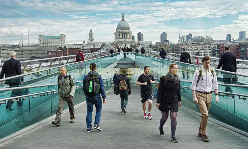 The Millenium Bridge
