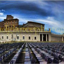 The Pope's arena