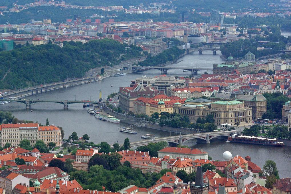 The Vltava River – Prague
