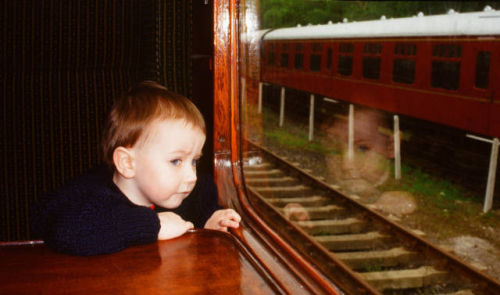 The Young Train Spotter