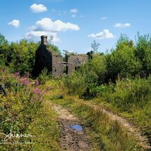The lost path to Cors-toncin In colour
