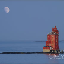 The red lighthouse of Kjeungskjaer