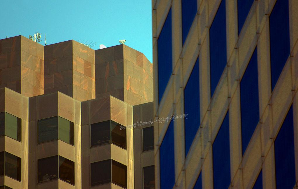 Through the square windows