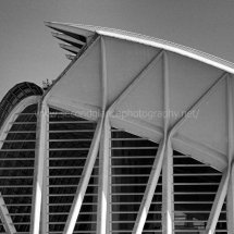 Valencia - Science Park (in Monochrome)