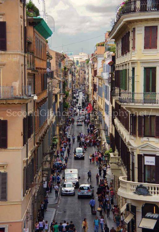 Via Dei Condotti Avenue Rome