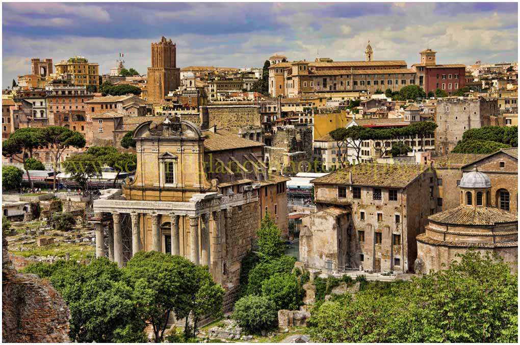 View from the Forum - Rome