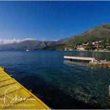 Yellow boardwalk - Cavtat