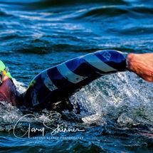 a full stroke - The swimmer