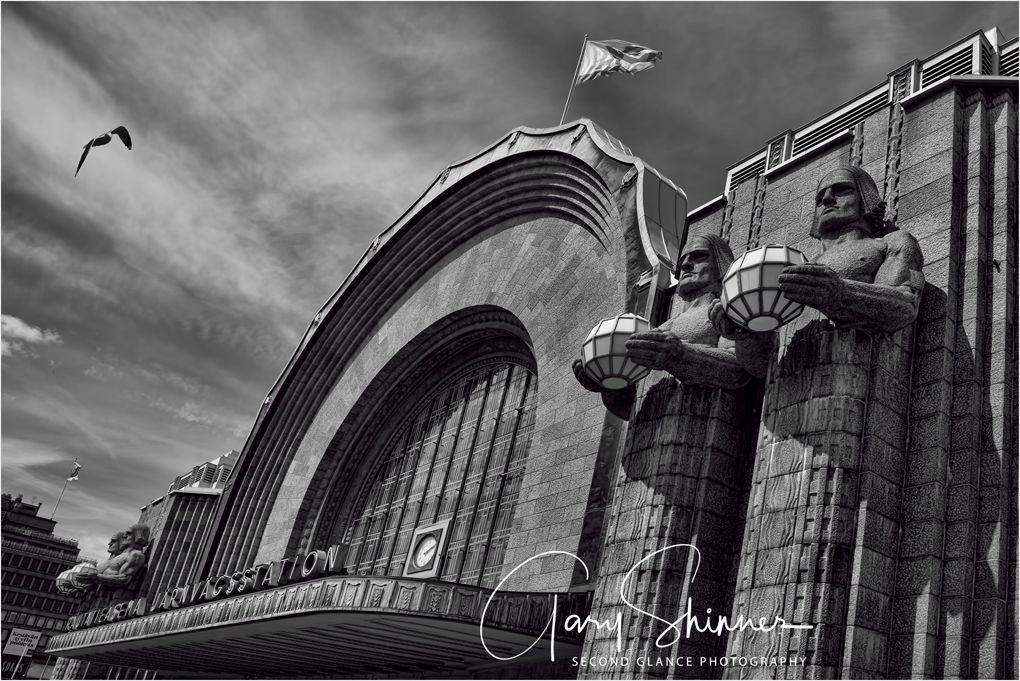 exterior Helsinki Central Station