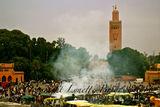 Dusk Marrakech