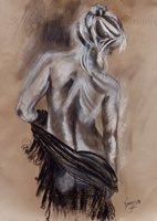 Girl in a Shawl