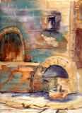 Amalfi Back Street Fountain