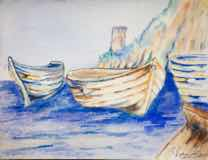 Praiano Three Boats