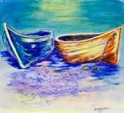 Two Fishing Boats Praiano II