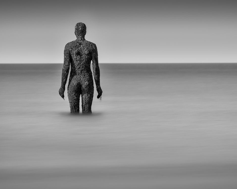 Antony Gormley Sculpture - Monochrome