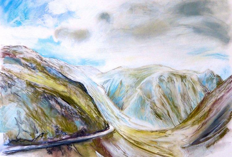 Dalveen Pass, early Spring