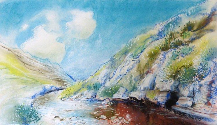 Garpel Water, Muirkirk, Summer