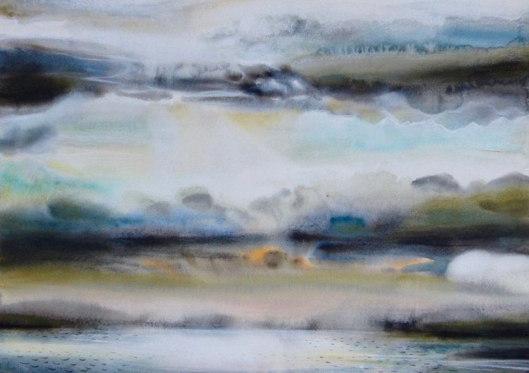 Evening clouds, Mull