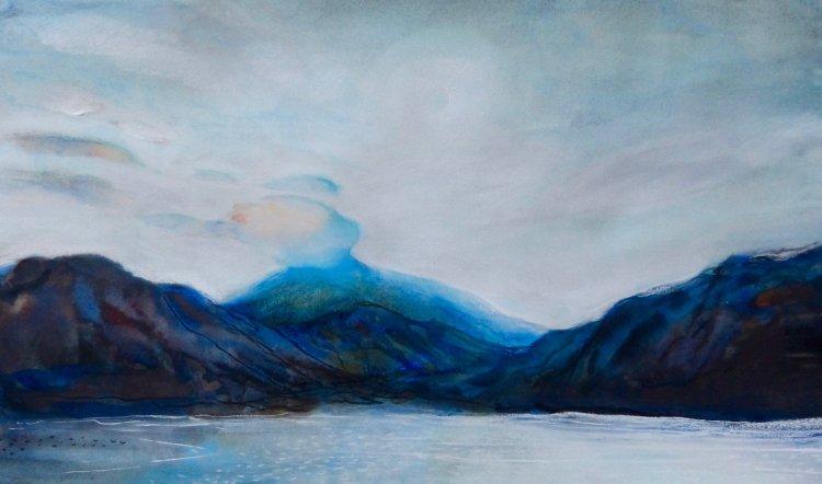 Loch Lomond, dusk