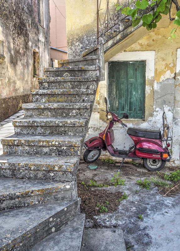 Commended-Corfu Village-Charlotte Sullivan