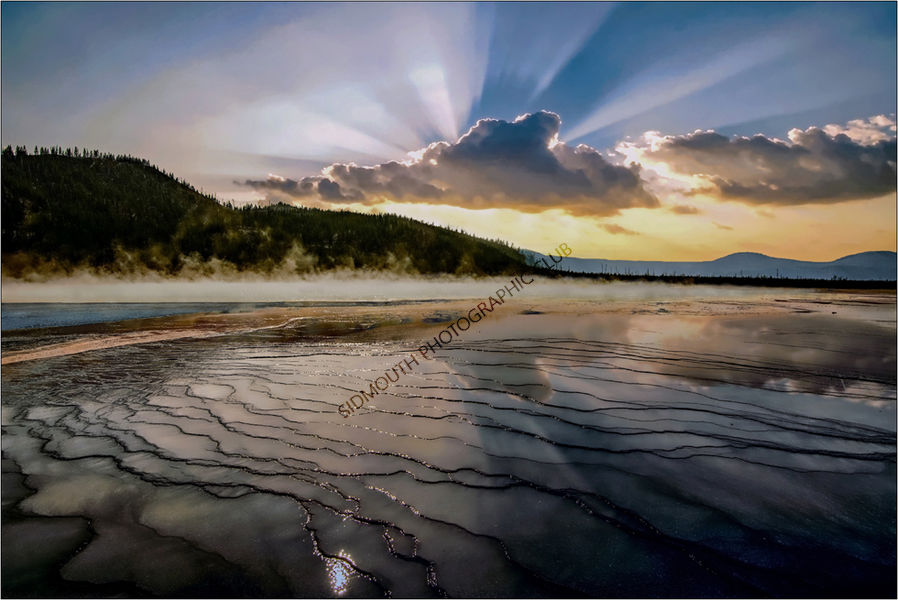 Highly Commended-Grand Prismatic Spring Yellowstone-John Marchbank