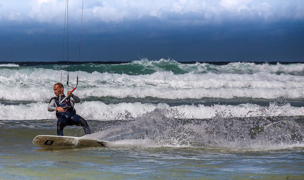 Highly Commended-Kite Surfer Watergate Bay-Keith Ridings