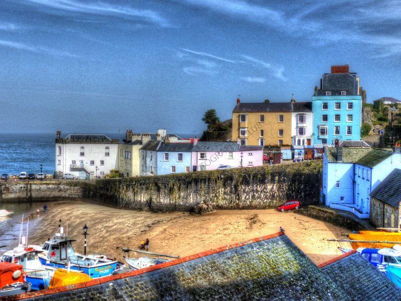 Highly Commended-Tenby Harbour-Steve Sullivan