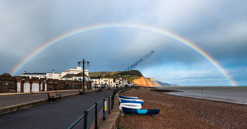 Commended-Rainbow over Salcombe Hill-Mike Ginsberg