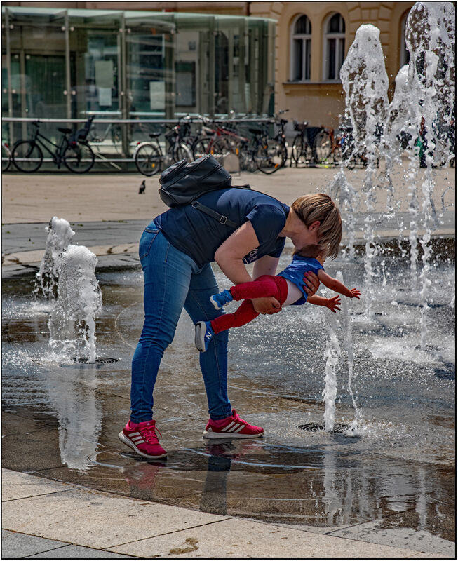 Commended-Water Baby-John Marchnbank