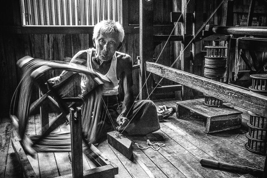 1st Spinning Wheel Harri Morris