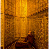 Monk in Golden Room