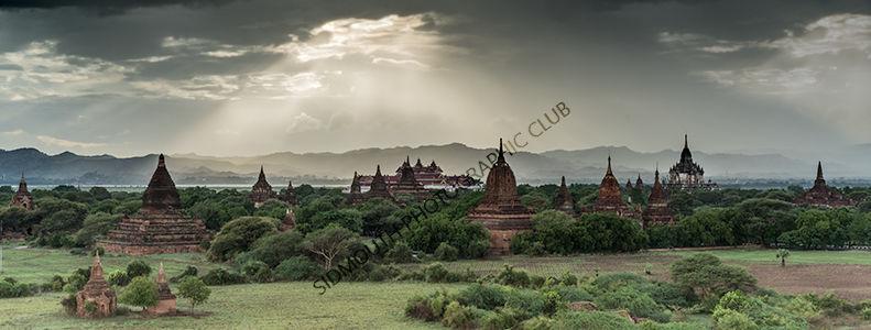 1st-Burmese Stupas-James Leacock