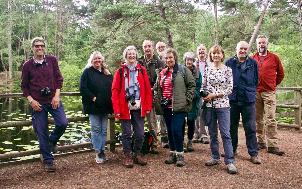 Group at Bystock Pools - Credit Jane Baker