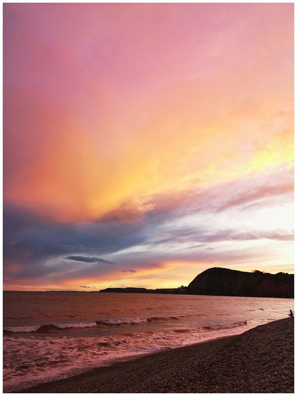 C Sunset Jacobs Ladder Beach Tony Velterop