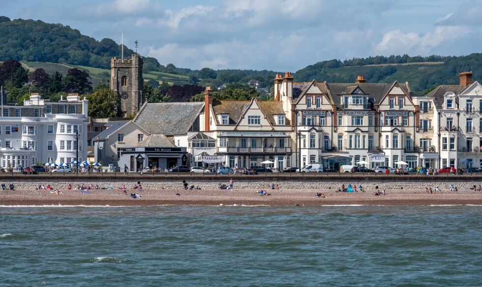 Sidmouth Esplanade by Michael Ginsberg LRPS