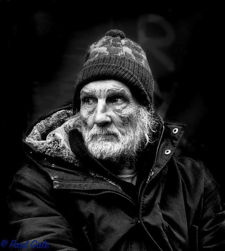 Highly Commended-Homeless, Brick Lane London-Paul Gale