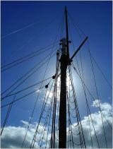 Mast at Brixham