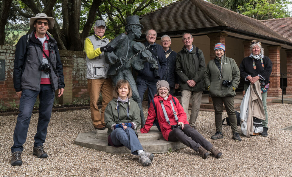 Members gather at Connaught Gardens for photo walk