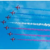 Red Arrows in Sidmouth