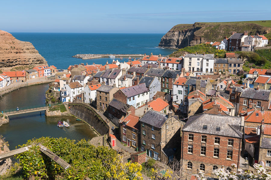 Highly Commended-Staithes in late spring-Brian Sherlow