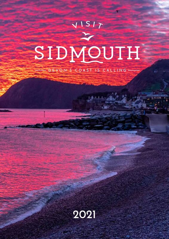 Visit Sidmouth 2021 Brochure - Photo by Michael Ginsberg LRPS