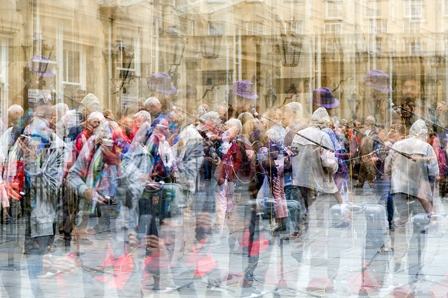 Highly Commended-Wet Day in Bath-George Webb