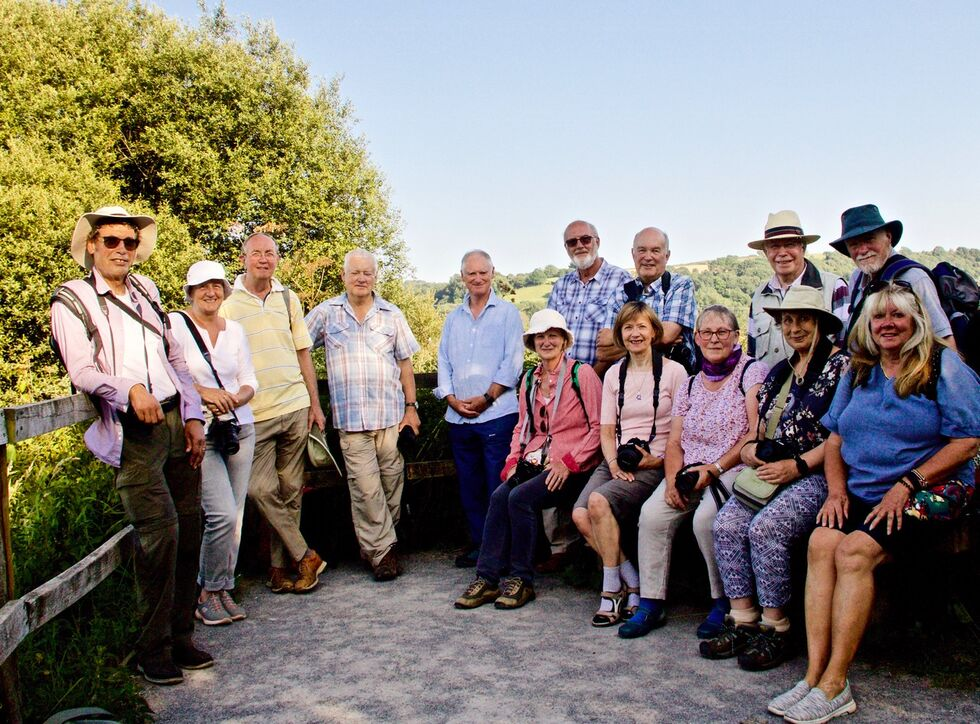 The Group at Seaton Wetlands - Credit Jane Baker