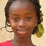 Young Gambian girl