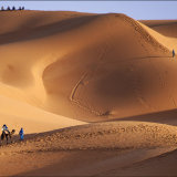 Dunes at Erg Chebbi