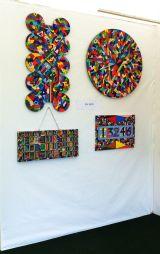 Henley Arts Festival - Riverside Gallery display wall 1