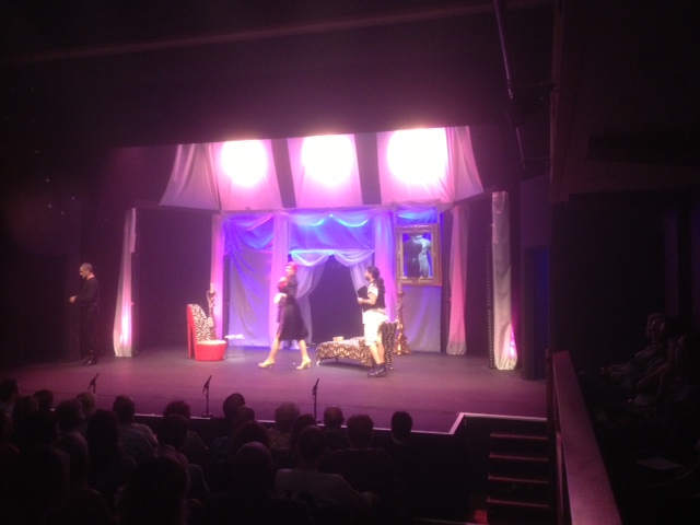 The Lover featured as part of the stage performance 'La Cage Aux Folles'